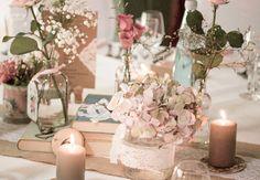 Vintage Hochzeit in der Sommerhalle Naumburg bei Kassel im Hochzeitsfieber Eventdesign – Hochzeitsdekoration aus Kassel