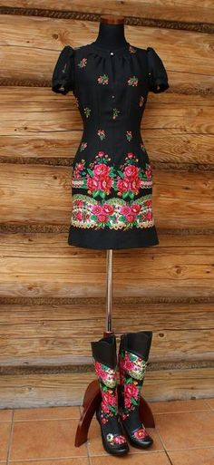 Polish folk fashion