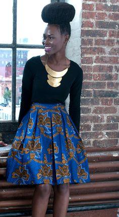 Gugu pleated skirt by Tatusi