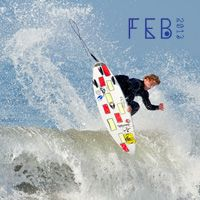 February 2013 Desktop Calendar Tide Chart Wallpaper