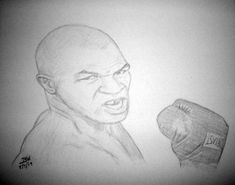 IRON MIKE TYSON HEAVYWEIGHT CHAMPION BOXER GYM RING BOUT PENCIL DRAWING  #Realism Sports Drawings, Mike Tyson, Pencil Drawings, Boxer, Champion, Iron, Gym, Excercise, Boxer Pants