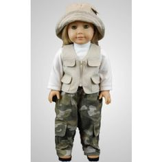 great outdoors 18 inch doll clothes & accessories