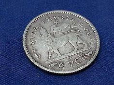 Ethiopian Coin, Silver Coin, Coins Lot n75 - Rare