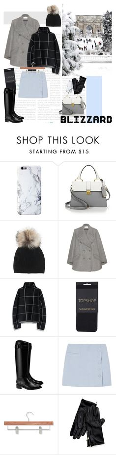"""blizzard"" by emyemoemu ❤ liked on Polyvore featuring Miu Miu, Inverni, Chloé, Chicwish, Topshop, Tory Burch, Honey-Can-Do and Tommy Hilfiger"