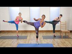 Baby-Bulge-Begone Workout   Class FitSugar - YouTube