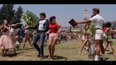 #TBT fun: last-day-of-school (song-and-dance) festivities from 'Grease'.