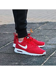 "Nike Air Max Tavas Leather ""Red Gym"" (802611-601) – NEU"