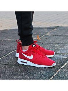 "Nike Air Max Tavas Leather ""Red Gym"" (802611-601) – NEU"