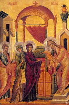 Iconography can be an extremely concise way of communicating the Faith. Therefore, what the Saints hold in their hands in portrait ico. Orthodox Christianity, Holding Baby, Religious Icons, Orthodox Icons, Meant To Be, Hold On, Saints, Religion, Presentation