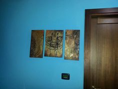 Paint tribal brown design home