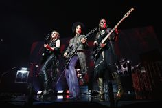 """Prince Photos - (Exclusive Coverage) Prince performs onstage with 3RDEYEGIRL during his """"HitnRun"""" tour at Bell Centre on May 23, 2015 in Montreal, Canada. - Prince & 3RDEYEGIRL """"HITnRUN"""" Tour - Montreal"""