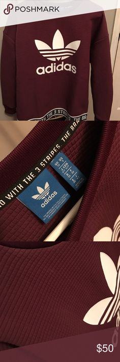 Adidas pull over Adidas pull over. Size small. Only worn a few times. Looks brand new Adidas Tops Sweatshirts & Hoodies
