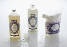 All Natural Everyday Laundry: Laundry Soap & Purifying Laundry Powder. Biodegradable, derived from plants and minerals.