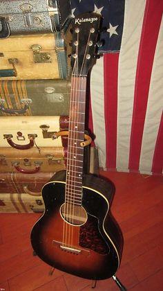 Acoustic Guitars Guitars & Basses New Fashion Kalamazoo Kg-14