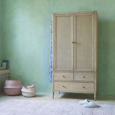 Want the perfect combo of drawers and hanging space? Our Valentine wardrobe is hand-crafted from solid oak so you can pass it on to the loafers of the future! Kids Wardrobe, Bedroom Wardrobe, Vintage Armoire, Comfy Sofa, Boho Bedding, Solid Oak, Wardrobes, Contemporary Style, Tall Cabinet Storage