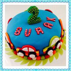 birthday cake, cars, sugarart, fondant, sugarpaste, cake design