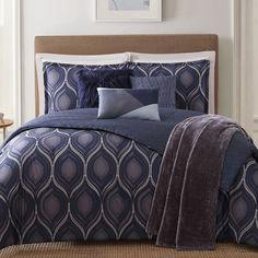 Found it at Wayfair - Basti 7 Piece Reversible Comforter Set