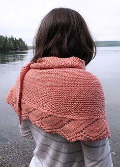 Ravelry: Schieffelin Point Shawl pattern by Kate Gagnon Osborn