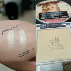 This Mary-Lou dupe by @elfcosmetics is currently on sale on their page for .80 cents . This is @elfcosmetics Shimmer in Gold.It is a perfect dupe and a steal!!! #beautyblogger #beautybloggers #makeupwhore #beautyaddict #beautycommunity #beautylover #makeupaddict #makeuplover #ilovemakeup #makeupjunkie #makeupjunkies #drugstoremakeup #makeupcommunity #makeupaddiction #beautyguru #makeupcollection #makeupporn #makeupmurah #instamakeup #wakeupandmakeup #makeuptalk #slave2beauty #makeupfan...