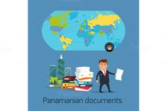 Panamanian Documents by robuart on @creativemarket