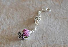 Rose Ecig Charm  Rose Vape Charm  Rose Vapor