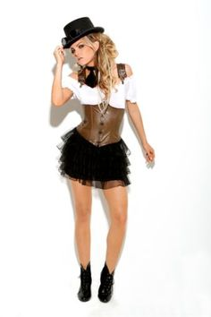 teen steampunk costume - Google Search