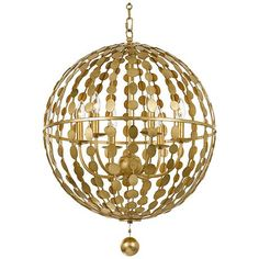 A glittering gold or