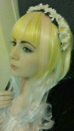 Daisy Flower crown headband Alice band kawaii by LittleFoxCraftz