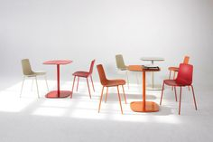 Enea LOTTUS Chair - Four Leg designed by Lievore, Altherr & Molina