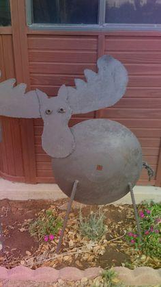 Scrap Metal Moose