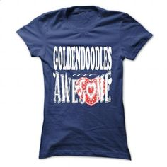 Goldendoodles are awesome - #pullover hoodies #hooded sweatshirt dress. ORDER HERE => https://www.sunfrog.com/Pets/Goldendoodles-are-awesome-NavyBlue-57271205-Ladies.html?id=60505