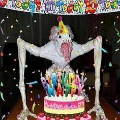 Me, on my birthday, regretting another year of a meaningless existence