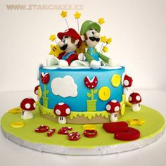 Super Mario Bros cake - Cake by Star Cakes - CakesDecor