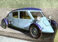 Claveau 1927   by MrScharroo's Weird Car Museum