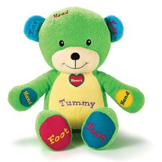 Laugh, love, learn! This adorably soft and cuddly bear sings 6 songs about different parts of the body-making learning super fun! #Avon #gifts at www.deannasbeautyshop.com.