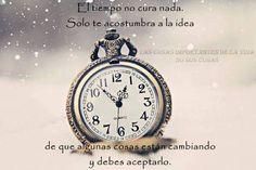 El tiempo no cura nada...*