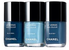 Les Jeans de Chanel i LOVE nail polish... would love these colors!
