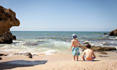 Top 10 family holidays in Portugal - via The Guardian 10.05.2014 | Sandy beaches for the little ones, outdoor action for older kids… Portugal is ideal for family getaways. Our top 10 places to stay also include tips on where to eat and what to do | Photo: Kids on the beach in the Algarve. Photograph: Alexandrar/Getty Images/Flickr Open