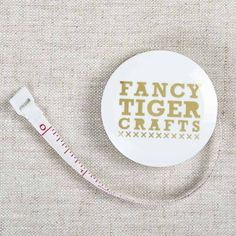 Retractable Tape Measure | Fancy Tiger Crafts