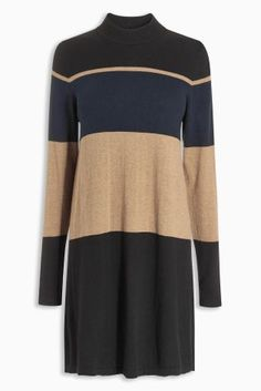 Perfect for the colder seasons this knit dress is effortlessly stylish!