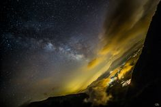 Milky Way and Clouds by Daniele Silvestri on 500px