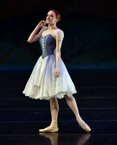 "Gillian Murphy in Festival Ballet Theatre's ""Giselle"" - costume by Heather Lerma"