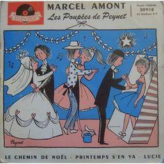 Marcel Amont - les poupées de peynet