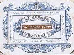Cuban Cigar Mtfg. - Antique 19th Century Belgian Business Tradecard. Havana Cigars, Cuban Cigars, Ephemera, 19th Century, Typography, Printing, Antiques, Business, Cards