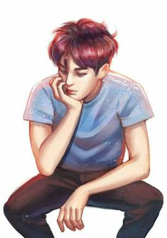Oceanite (n) a person who will always protect and cherish Thalassa M… # Fiksi Umum # amreading # books # wattpad Kai Arts, Exo Fan Art, Kim Jong In, Exo Kai, Kpop Fanart, K Idols, My Music, Chibi, Disney Characters