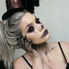 halloween makeup tumblr - Căutare Google