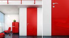 Barn door hardware, modern doors and wall systems www.bartelsdoors.com/reddoor