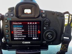 No Editing Needed! How to Use Canon Picture Styles to Your Advantage