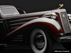 ✿ ❤ 1937 Cadillac V16 Series 90 Aerodynamic Coupe, Photo by Peter Lombardi on auto - Carzz