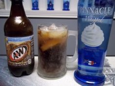 Vodka Root Beer Float whipped vodka